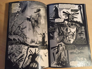 Damned to Walk the Earth! STRAW MAN Rise of the Dead! Comic Book issue#01