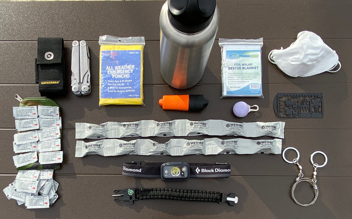 W.I.S. WATER BOTTLE SURVIVAL KIT