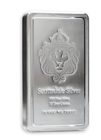 AMTV Scottsdale Stacker 10 oz Silver Bar