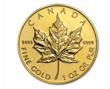 Canada Gold Maple Leaf (Any Year) 1 oz Gold Coin