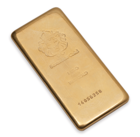 AMTV Scottsdale Gold 1 kg Gold Bar