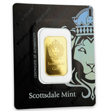 AMTV Scottsdale Gold 10 g Gold Bar