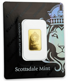 AMTV Scottsdale Gold 5 g Gold Bar