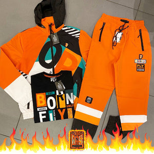 Born Fly Supreme Windbreaker Set