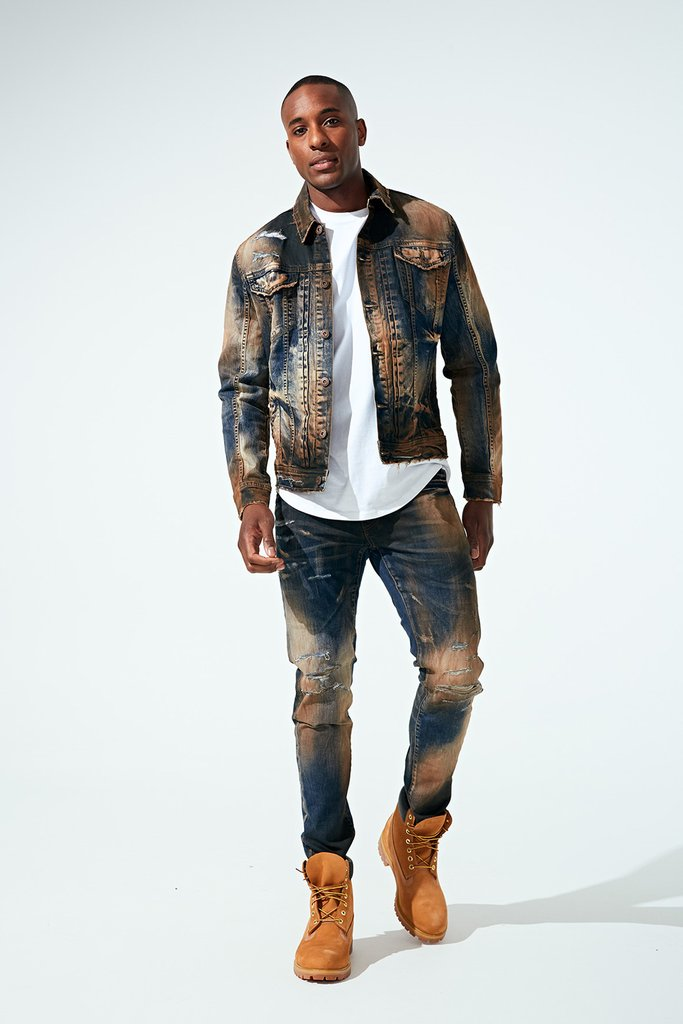 Desert Copper Wash Jordan Craig Denim Set