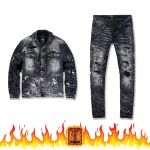 Jordan Craig Avalanche Denim Set (Court Purple)