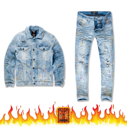 Jordan Craig Avalanche Denim Set (Light Blue)