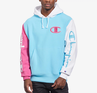 Champion Men's Reverse Weave Colorblock Hoodie
