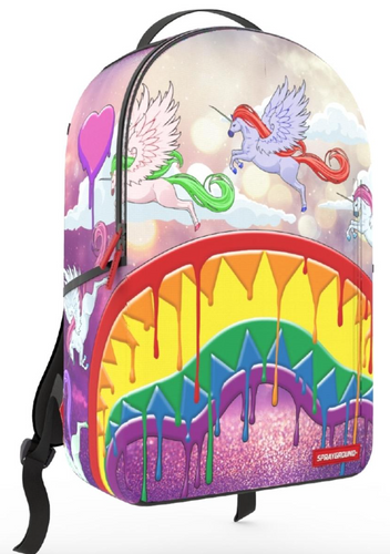 Sprayground Melt the Rainbow Backpack