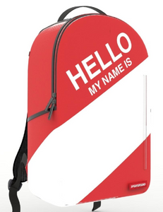 "Sprayground ""Hello My Name Is"" FIRST EVER Backpack"