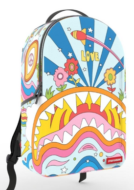 Sprayground Groovy Shark Mini Backpack