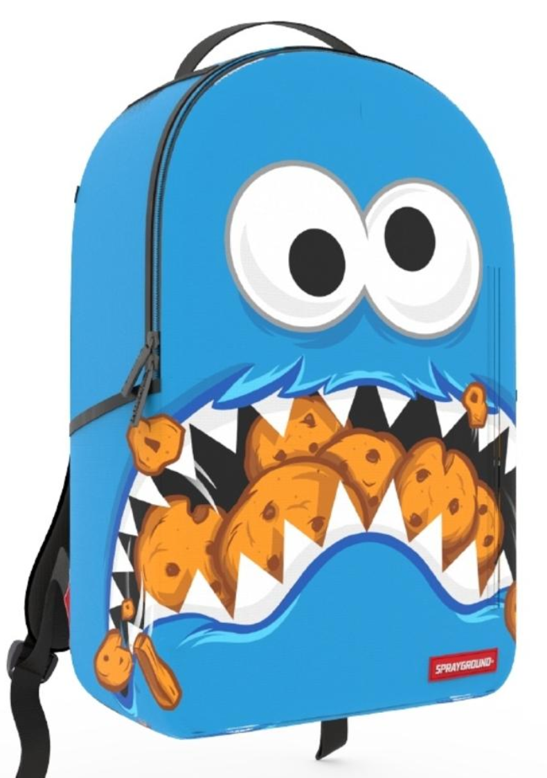 Sprayground Cookie Monster Mini Backpack