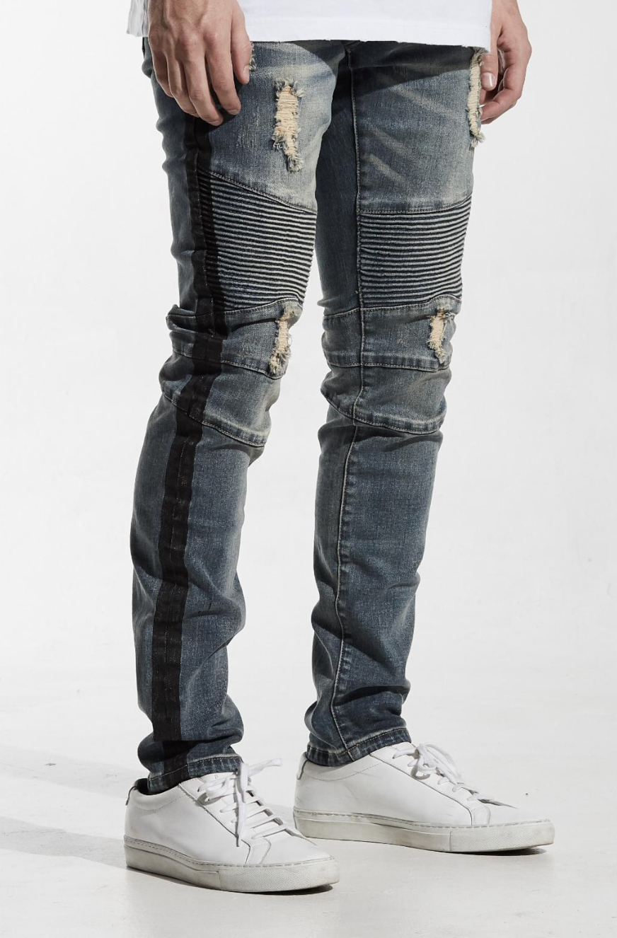 Embellish Racer Biker Denim (EMBSU118-115)