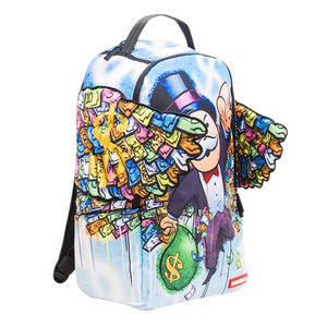 Sprayground Monopoly Money Wings Backpack