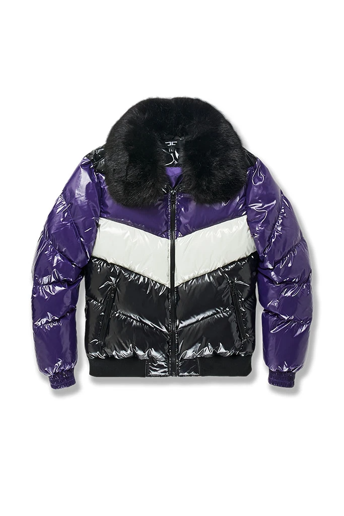 Jordan Craig Puffer Jacket - Court Purple