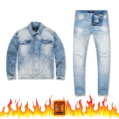 Jordan Craig Soho Denim Set (Arctic)