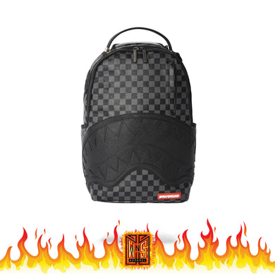 Sprayground Black Henny Sharks in Paris Backpack
