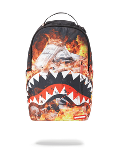Sprayground FIRE MONEY SHARK