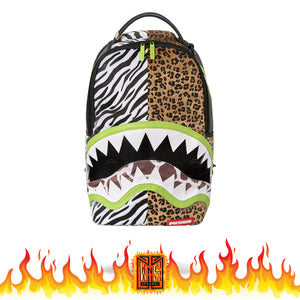 Sprayground Safari Jungle Shark Backpack