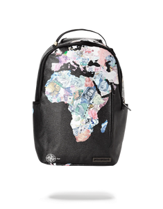 Dave East x Sprayground Africa Currency Backpack