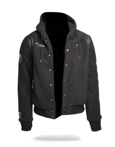 Sprayground Varsity Army Patches Jacket