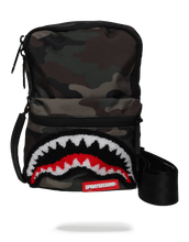 Sprayground Camo Shark Mini Sling