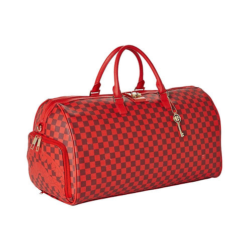 Sprayground/Todd Gurley Sharks in Paris Red Duffle