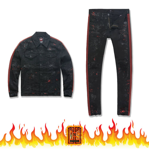 Jordan Craig Dillinger Striped Denim (Bred)
