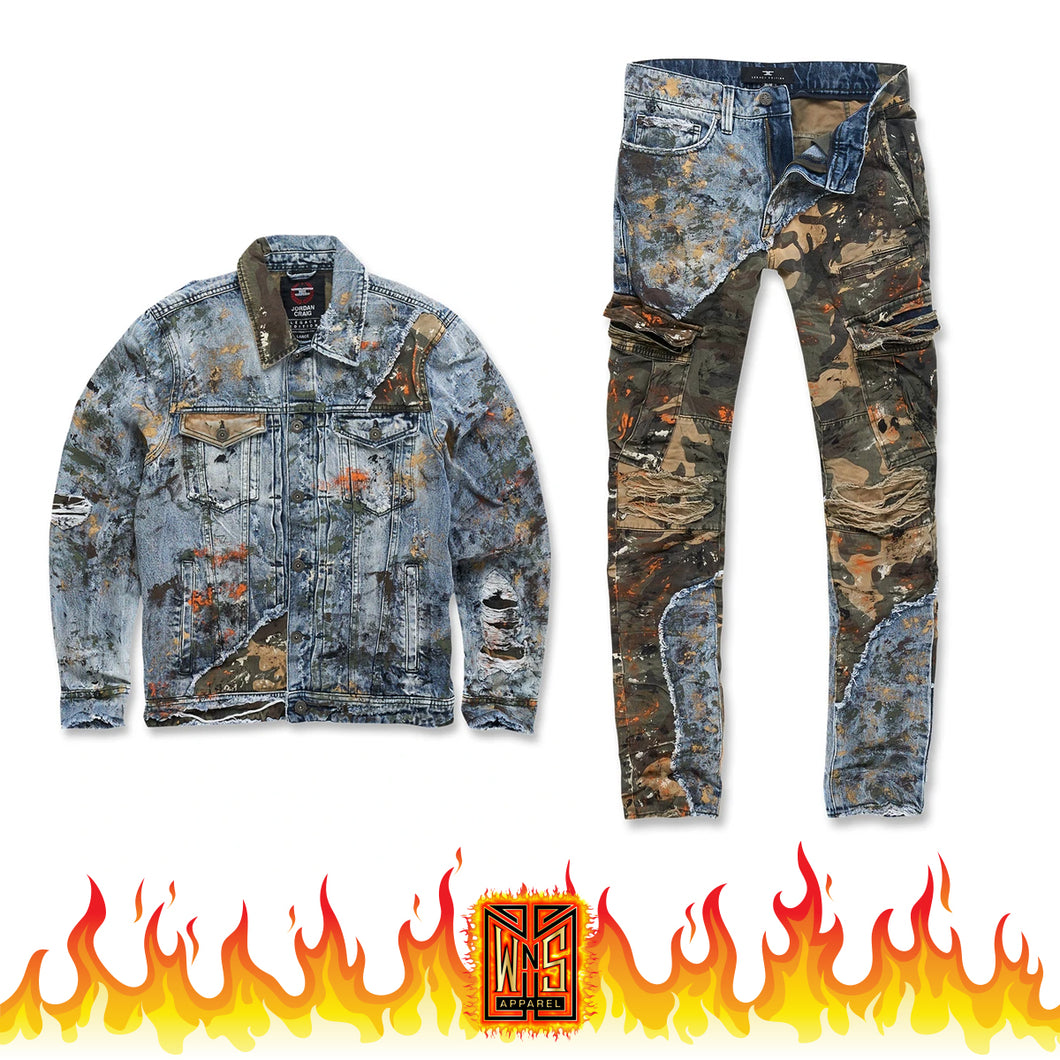 Jordan Craig Freedom Camo Denim Set
