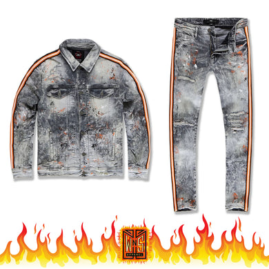 Jordan Craig Sparta Denim Set (Starfish)