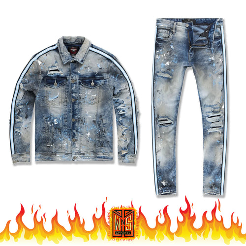 Jordan Craig Sparta Denim Set (University Blue)