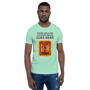 Custom Printed Short-Sleeve Unisex T-Shirt