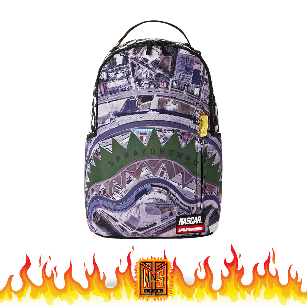 Sprayground Nascar Track Day Backpack
