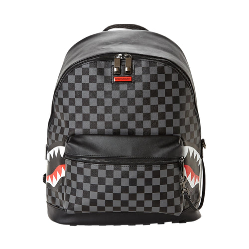 Sprayground Side Sharks in Paris Backpack - Grey