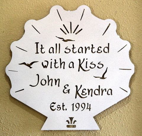 Anniversary Plaque: Personalized Anniversary Gift: Wedding Plaque