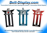 Unequal Selection of Martial Arts Belt Displays Online