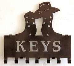 Cowboy Boot Key Holder