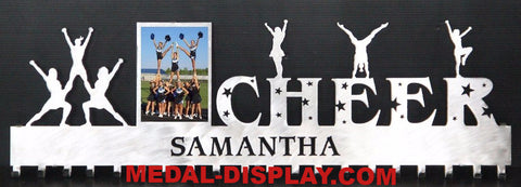 Cheer Medals Holder Hanger - Cheerleading Awards Display-MEDAL-DISPLAY.COM