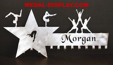 cheer and gymnast medal hanger-MEDAL-DISPLAY.COM