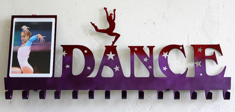 Dance Medal Display: Dance Moms Photo Frame: Dance Photo and Medal Holder