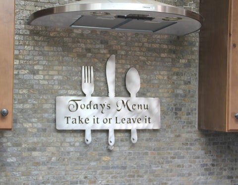 Copy of Kitchen Wall Decor : Kitchen Decorations: Fork and Spoon Wall Decor