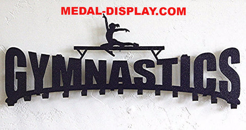 Best selling gymnastics medal display for 2018-MEDAL-DISPLAY.COM