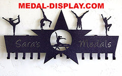 Gymnastics Medal Holder: Cheer Medal Display: Personalized Medals Holder