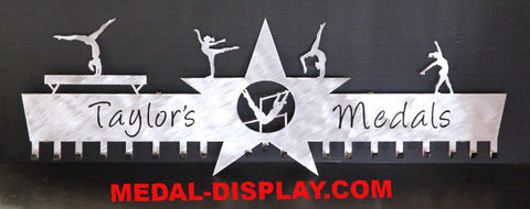 Premier Gymnastics Medal Display Rack-MEDAL-DISPLAY.COM