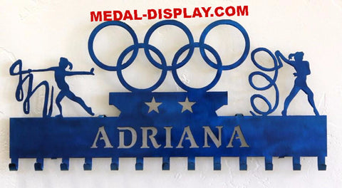 Custom ribbon medal holder to show off awards. MEDAL-DISPLAY.COM
