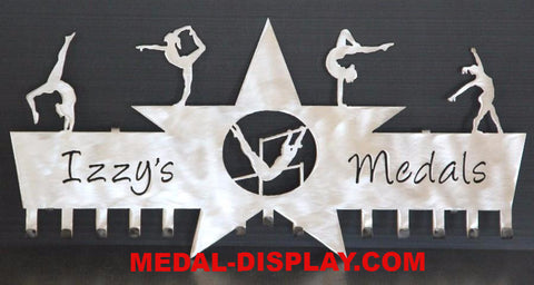 Gymnastics Medals Hanger: Gymnastics Medal Holder:  Medals Holder For Gymnastics Ribbons