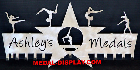 How to Display Gymnastics Medals-MEDAL-DISPLAY.COM