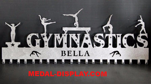 New for 2016 The Official Gymnastics Medal Holder, Medals Hanger Wall Display: