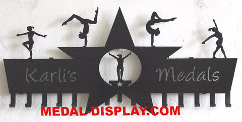 Gymnastics Awards Holder: Custom Gymnastics Medal Display| customcut4you.com