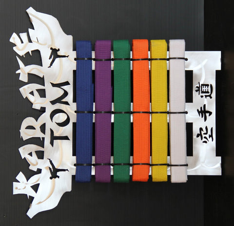 Karate Belt Display Expandable